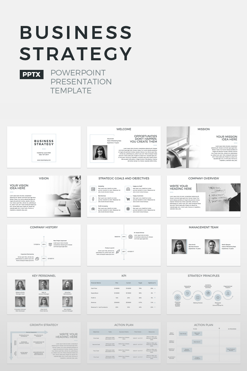 Business Strategy - PowerPoint Template
