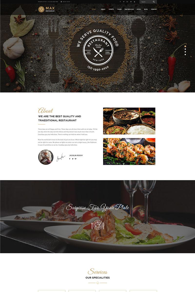 Responsive WordPress thema over BBQ restaurant