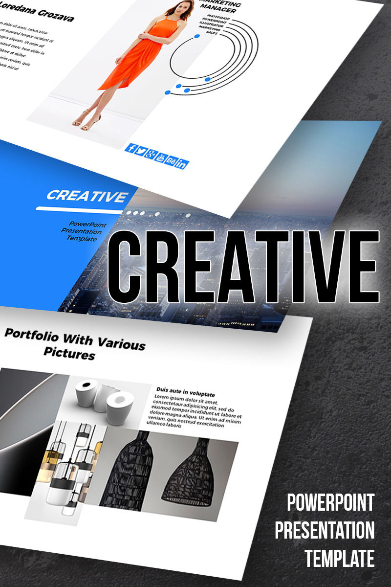 Creative - PowerPoint Presentation Template